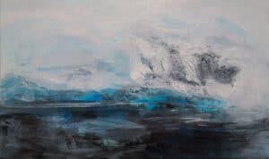 A Blizzard's Calm, Acrylic on Canvas,  100x150cm, 2015