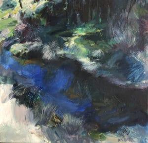 hady Spot, Oil on Canvas, 40x40cm, 2018