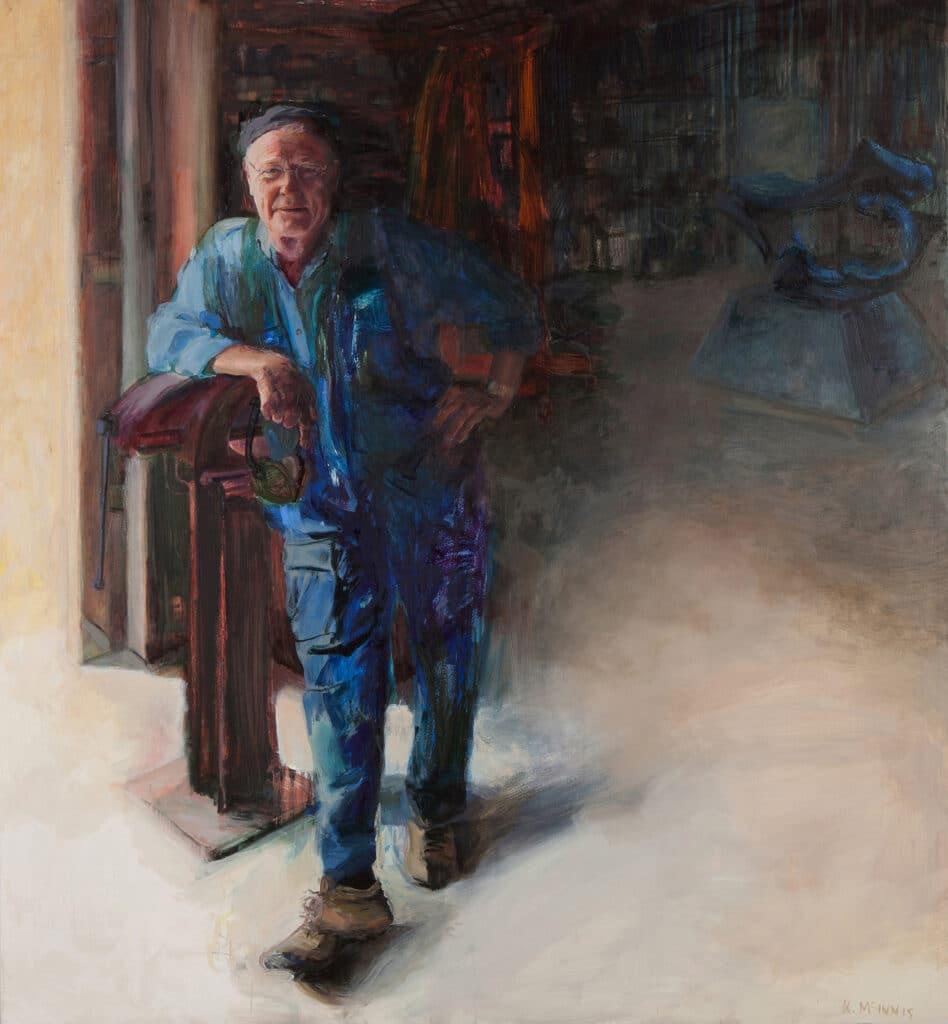 Michael Le Grand, Oil on Canvas, 180x150cm, 2012