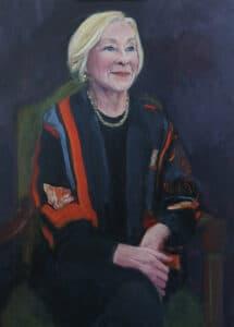 Noeline Brown, Oil on Canvas, 80x55cm, 2018