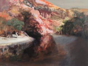 Ormiston Acrylic on Canvas,  90x120cm, 2021
