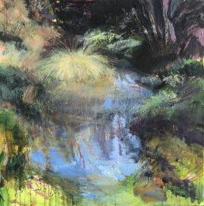Poa Grass  Oil on Canvas, 80x80cm, 2019