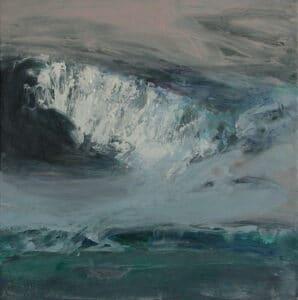 Polar Shadows, Acrylic on Canvas,  40x40cm, 2014