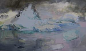 Polar Dawn 2, Acrylic on Canvas,  100x150cm, 2016