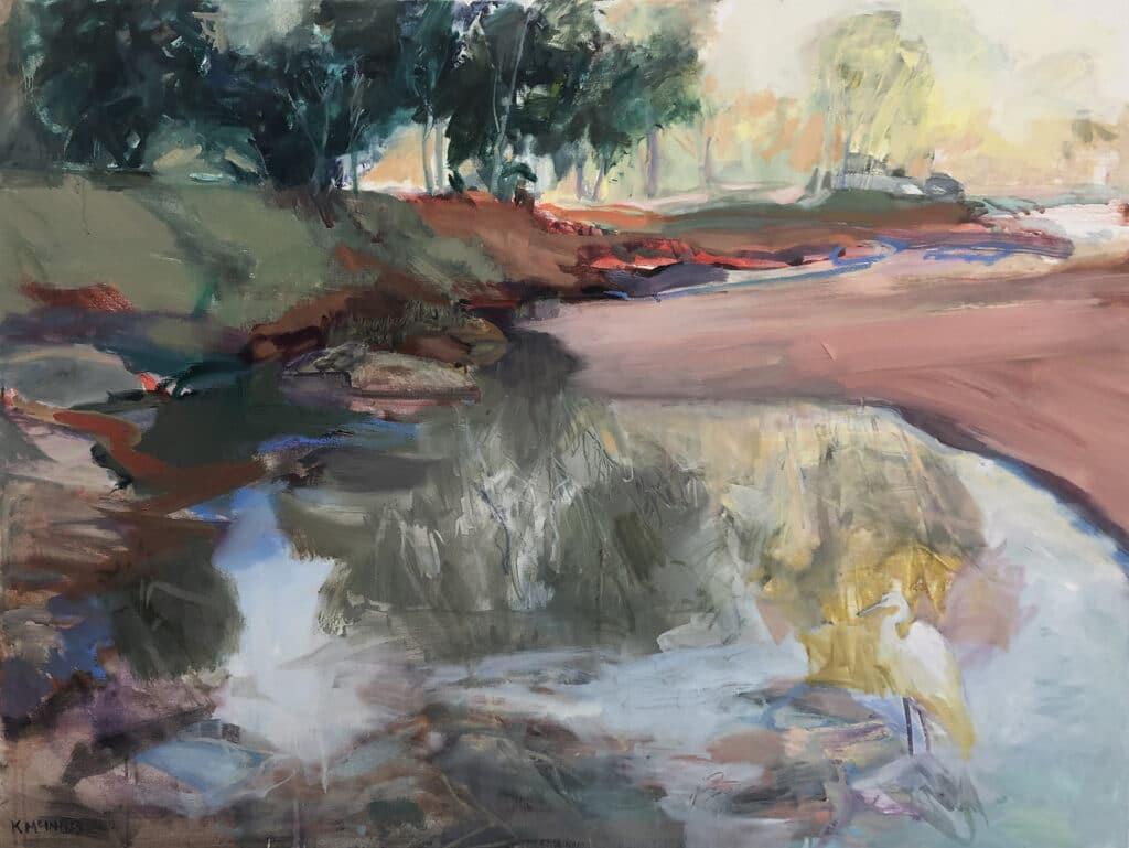 Walker Creek, Oil on Canvas, 90x120cm, 2021